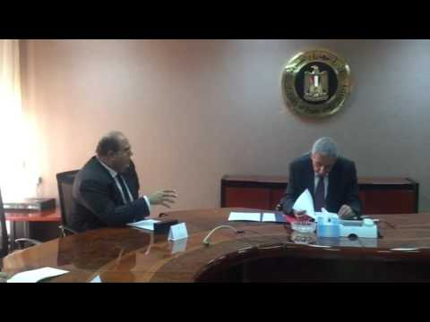 لقاء الوزير/طارق قابيل مع رئيس الجانب المصري بمجلس الأعمال المصري المجري المشترك