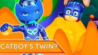 PJ Masks Creations 💜 Catboy's Twin? Halloween Special | Play with PJ Masks