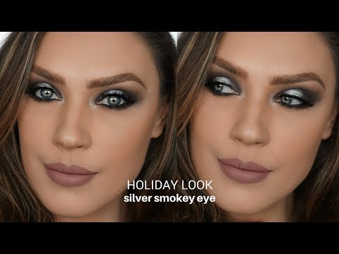 HOLIDAY LOOKSILVER SMOKEY EYECAROL LAGO