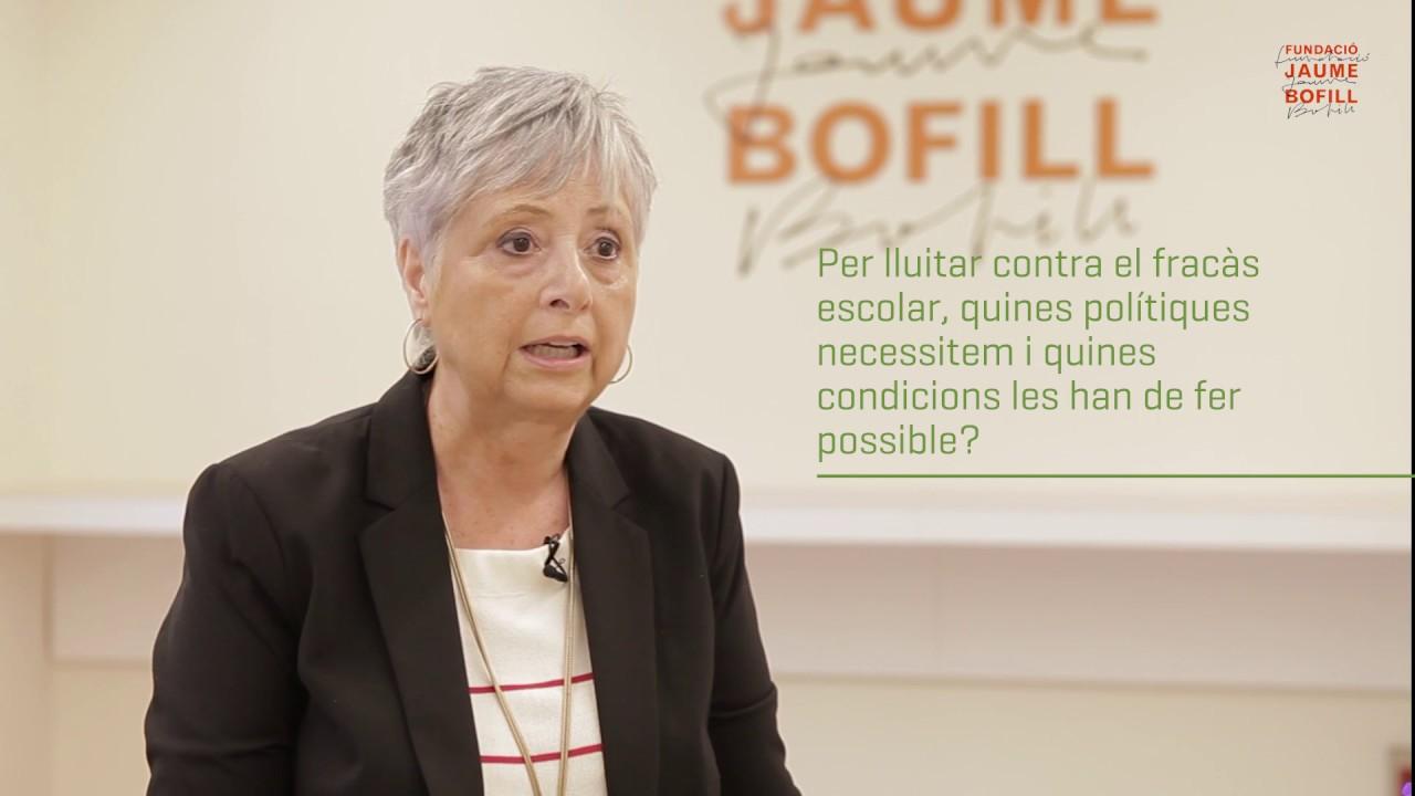 Cristina Pujol: polítiques contra el fracàs escolar