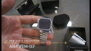 New Casio Collection A168WEM-1EF