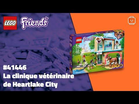 Vidéo LEGO Friends 41446 : La clinique vétérinaire de Heartlake City