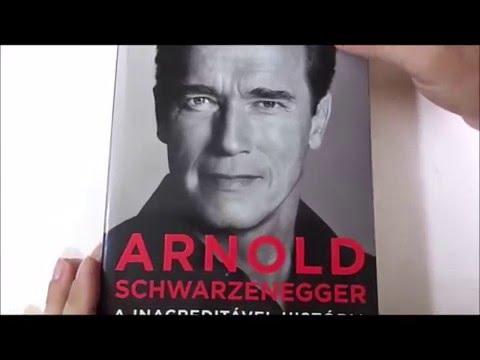 Livro Arnold Schwarzenegger  - A increditável história da minha vida