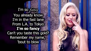Iggy Azalea   Fancy (Lyrics) Ft. [Charli XCX] Official Audio