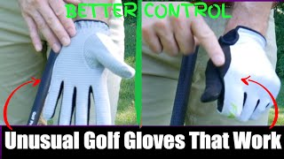 Will These Unusual Golf Gloves Help Your Game?