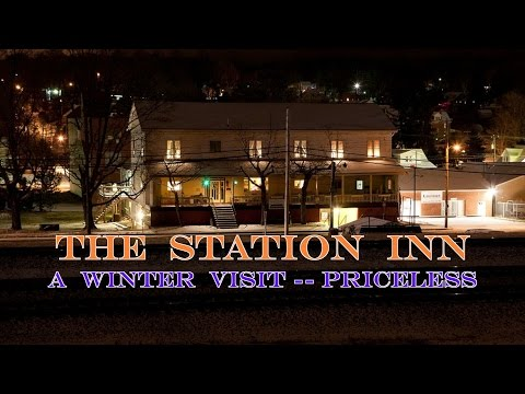 The Station Inn Beckons in Winter