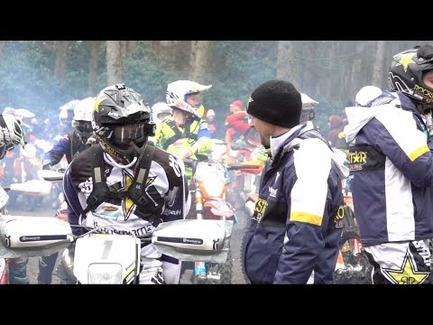 Graham Jarvis & Billy Bolt at Eddys Extreme Enduro Championship 2018