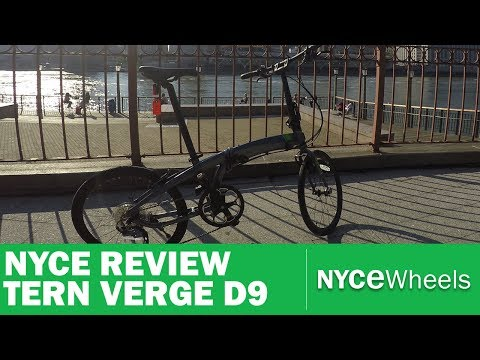 Tern Verge D9 – High Performance, low cost! – Folding Bike Review