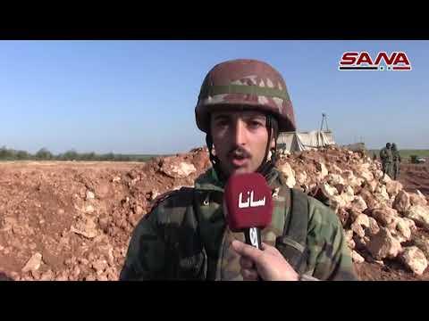 Suriye askerleri Münbiç'in kuzeyine konuşlanıyor