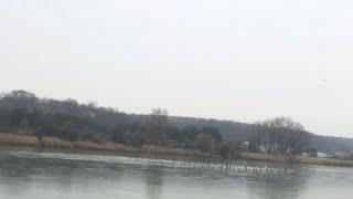 Стрим : Вот и стал лёд на озере!!!)))