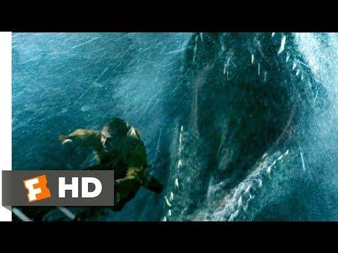 Jurassic World: Fallen Kingdom (2018) - Mosasaurus Attack Scene (1/10) | Movieclips