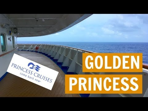 Sea day #1: Golden Princess, Asia Cruise VLOG 3 (2018)