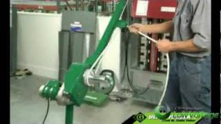Greenlee GL-UT2 Ultra Tugger 2 Cable Puller – Use and Operation of Greenlee Cable Puller – YouTube