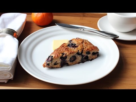 Whole-Grain Blueberry Scone Recipe – How to Make a Blueberry Scone