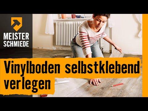 Vinylboden selbstklebend verlegen | HORNBACH Meisterschmiede