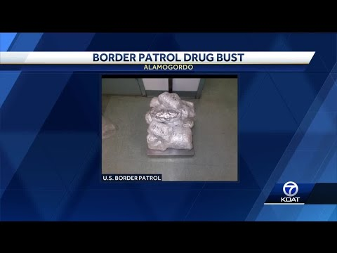 Border Patrol seizes over $850,000 worth of meth