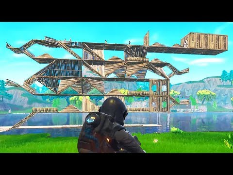 DEATH RUN in Fortnite Battle Royale