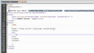 PHP Tutorial: Make a Member System // User Login (1/3)