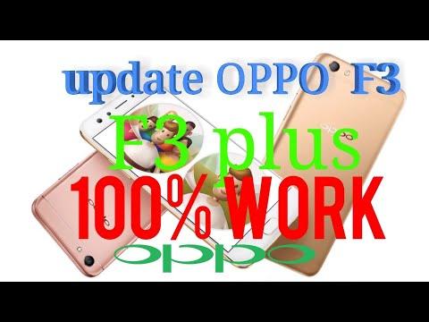 Oppo F3 Plus Nougat 7 1 1 official update - смотреть онлайн