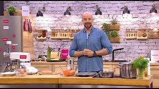 Mr. Kitchen: Sloba Sprema Pogačice Od Batata I Zdravu Salamu