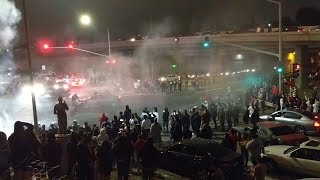 Oakland Police shut down July 4 sideshow after person struck