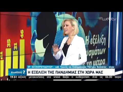 Η εξέλιξη της επιδημίας του κορονοϊού στην Ελλάδα | 20/03/2020 | ΕΡΤ