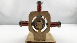 Amazing Powerful Free Energy Generator Using Rotation Motion
