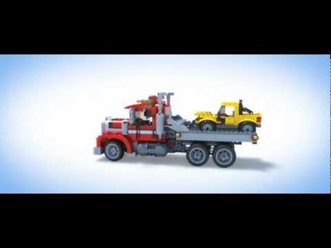 Vidéo LEGO Creator 7347 : Le camion dépanneur