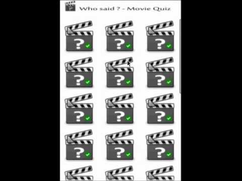 Video of Cool Quotes - Movie Quiz