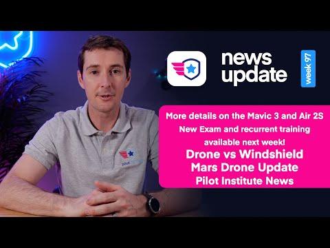 Drone News: Mavic 3 and DJI Air 2S updates. New FAA exam and ...