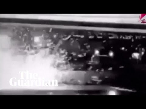 Qassem Suleimani: moment Iranian general killed by US strike reportedly caught on CCTV
