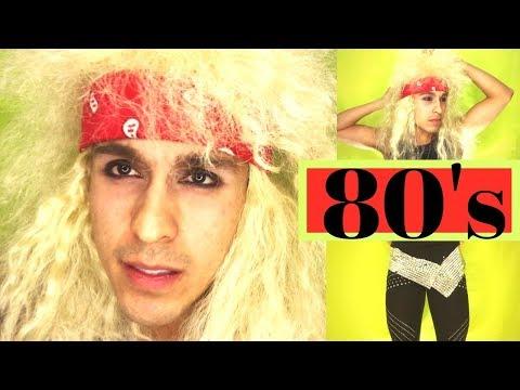 Rockero de los 80 (Disfraz) - 80's Rockstar (Costume)