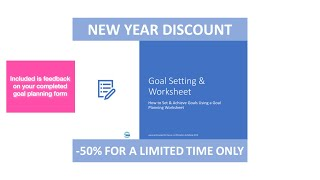 Goal Setting Training Promotion. Learn to Set and Achieve Goals Like a Pro