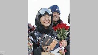 スノーボードW杯ハーフパイプ戸塚が3位