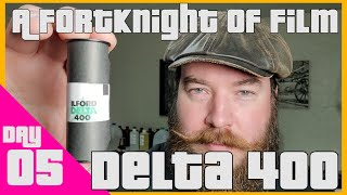 Ilford Delta 400 & How to Develop B&W Film at Home | A FortKnight Day 05