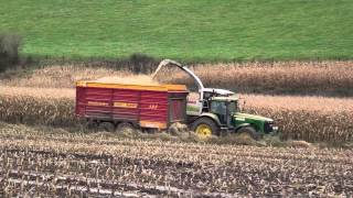 preview picture of video 'Mais Hakselen 2012 : Claas Jaguar 980 en Claas Jaguar 900 in aktie in Remersdaal van Egide London'