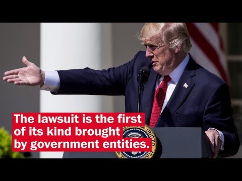 D.C. and Maryland to sue President Trump