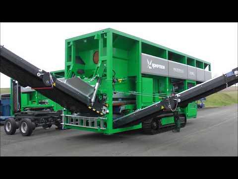 Komptech Multistar XL3 Star Screen - Track Chassis Features and Maintenance