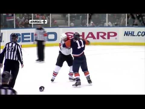 Nate Thompson vs. Ian Laperriere
