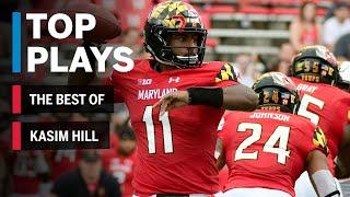 The Best of Kasim Hill: 2018 Mid-Season Highlights | Maryland | Big Ten Football