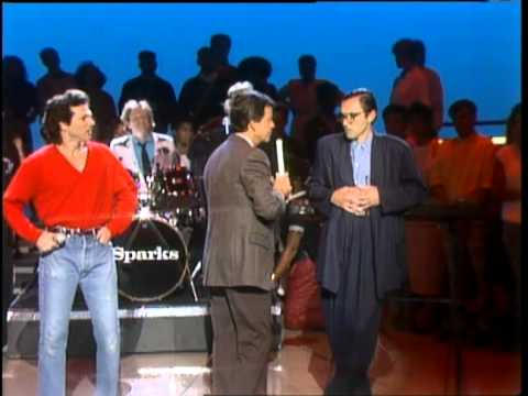Dick Clark Interviews Sparks - American Bandstand 1986