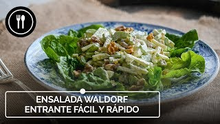 ENSALADA WALDORF: Un entrante FÁCIL Y RÁPIDO | Instafood