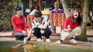 Việt Nam tươi đẹp | Gin Tuấn Kiệt đưa Han Sara đi câu cá sấu | HTV VNTD