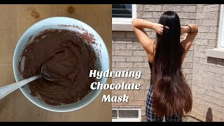 Hydrating Chocolate Mask For Healthy Hair ✨