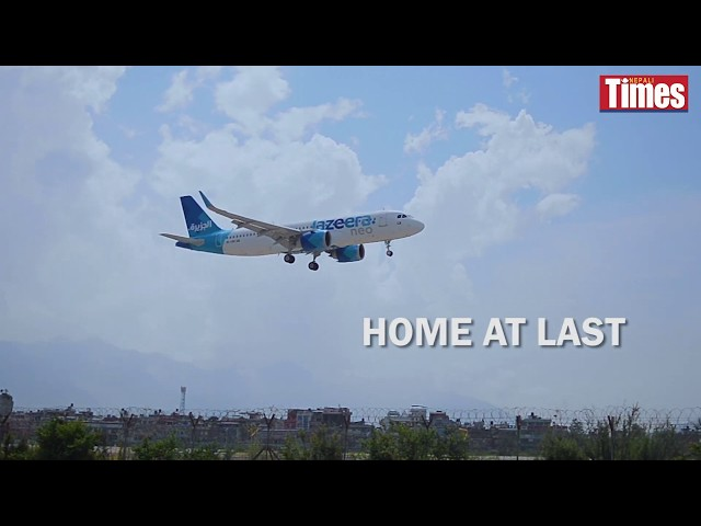 Stranded Nepalis start to fly home