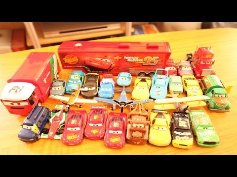 Disney Cars Planes Cars 2 Current Collection 20 Toy Car Mack Truck Lightning Mcqueen Collection