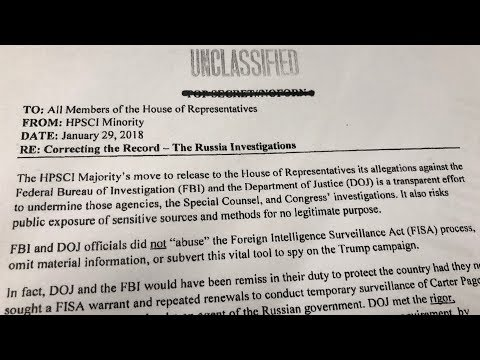 US Democrats release memo responding to Republican charges in 2016 presidential vote probe