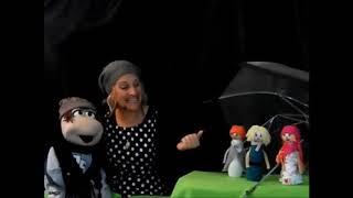 """שרית ורוני שרים שיר לחורף: """"ילדים ומטריה"""". תיאטרון """"אבני דרך""""- שרית ברנס"""