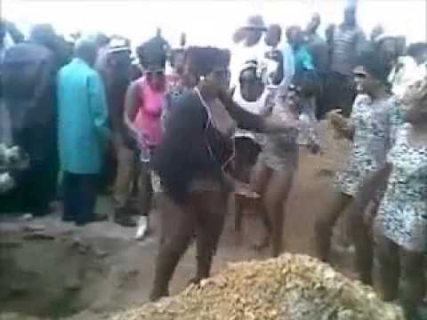 AT THE FUNERAL OF THE FAMOUS BITCH IN ZAMBIA