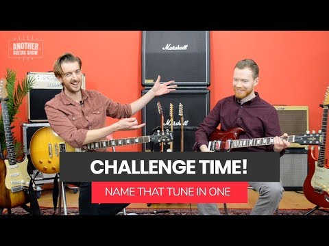 How did he not know THIS RIFF?? - Name That Tune #1